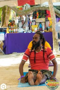 Rastafari Rootzfest Morning Beach Yoga
